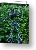Armillary Greeting Cards - Armillary in the Garden Greeting Card by Douglas Barnett