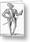 Jousting Greeting Cards - Armor, 16th Century Greeting Card by Granger