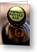 Profanity Greeting Cards - Arrogant Bastard II Greeting Card by Bill Owen
