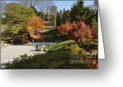 Cheekwood Gardens Greeting Cards - Art in the Gardens Greeting Card by Denise Ellis