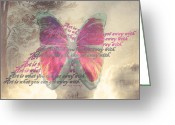 "\\\""photo Manipulation\\\\\\\"" Pastels Greeting Cards - Art is ..... Greeting Card by Yvon -aka- Yanieck  Mariani"