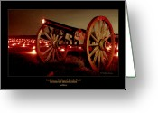 Antietam Greeting Cards - Artillery 91 Greeting Card by Judi Quelland