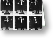 Orchestra Greeting Cards - Arturo Toscanini Greeting Card by Granger