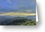 Cowee Greeting Cards - As far as the eye can see Greeting Card by Donnie Smith