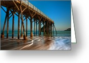 San Simeon Greeting Cards - As Seconds Pass Greeting Card by Jeffrey Campbell