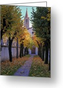 Convent Greeting Cards - Ascona - Collegio Papio Greeting Card by Joana Kruse