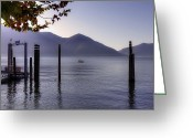 Mountain View Greeting Cards - Ascona - Lago Maggiore Greeting Card by Joana Kruse