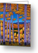 Expressive Greeting Cards - Aspen Country II Greeting Card by Johnathan Harris