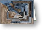 Aspiration Greeting Cards - Aspiration Cubed 2 Greeting Card by Tim Allen