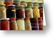 Chili Greeting Cards - Assorted Spices Greeting Card by Carlos Caetano