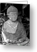 Inner Peace Greeting Cards - At Peace Greeting Card by Dean Harte