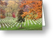 Veterans Day Greeting Cards - At Rest Greeting Card by JC Findley