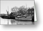 Maltings Greeting Cards - At Snape Maltings Greeting Card by Mark Tripp