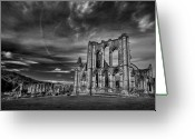 Heritage Greeting Cards - At The Dreamscape Ruins Greeting Card by Evelina Kremsdorf