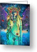 Magick Greeting Cards - Atlanta Rising Greeting Card by Keith Stillwagon
