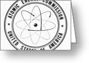 Commission Photo Greeting Cards - Atomic Energy Commission Greeting Card by Granger
