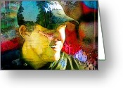 Golf Digital Art Greeting Cards - Augusta Masters 2010 - Phil Mickelson Greeting Card by Miki De Goodaboom