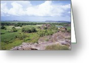 Arnhem Land Greeting Cards - Australian Landscape Greeting Card by Carlos Dominguez