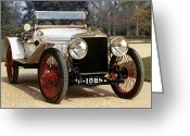 Suiza Greeting Cards - Auto: Hispano-suiza, 1912 Greeting Card by Granger