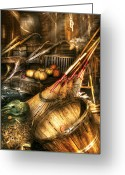 Shed Greeting Cards - Autumn - This years harvest Greeting Card by Mike Savad