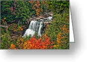 Reds Greeting Cards - Autumn Magic Greeting Card by Steve Harrington