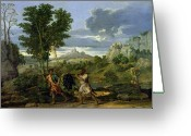 Poussin Greeting Cards - Autumn Greeting Card by Nicolas Poussin