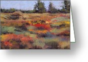 States Pastels Greeting Cards - Autumn Palette Greeting Card by Dennis Rhoades