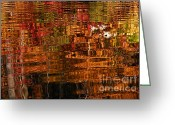 Larry Ricker Greeting Cards - Autumn Reflection II Greeting Card by Larry Ricker