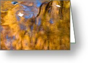 Colorado Photographers Greeting Cards - Autumn reflection Greeting Card by Paul Gana