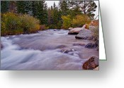 Brian Kerls Greeting Cards - Autumn River Greeting Card by Brian Kerls