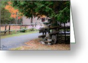 Inuksuk Greeting Cards - Autumn seduction no.2 Greeting Card by Iuliana Pacso