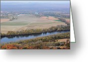 Western Massachusetts Greeting Cards - Autumn View From Skinner State Park No. 2 Greeting Card by Smilin Eyes  Treasures