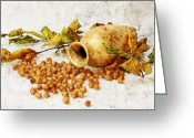 Brunch Greeting Cards - Autumnally Greeting Card by Angela Doelling AD DESIGN Photo and PhotoArt