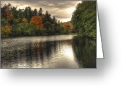 Chris Anderson Photography Greeting Cards - Autumns Silent Flight Greeting Card by Chris Anderson