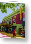 Preppy Greeting Cards - Avalon theatre Greeting Card by Jost Houk