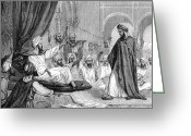 1100s Greeting Cards - Averroes, Islamic Physician Greeting Card by