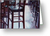 Online Art Gallery Greeting Cards - Avida Seat Greeting Card by Penelope Moore