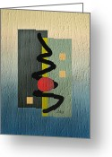 Mood Mixed Media Greeting Cards - Awake Greeting Card by Gordon Beck