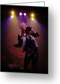 Axl Rose Greeting Cards - Axl Rose  Greeting Card by Rich Fuscia
