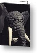 Head Piece Greeting Cards - Babars Father Greeting Card by Michael Rutland