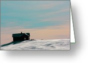 Canadian Photographer Greeting Cards - Baby Blue Greeting Card by Jerry Cordeiro