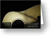 Taylor Guitar Greeting Cards - Baby Taylor Greeting Card by Donna Renier