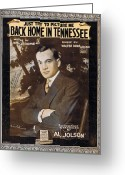 Superstar Photo Greeting Cards - Back Home in Tennessee Greeting Card by Mel Thompson