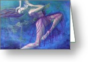 Fantastic Greeting Cards - Back in time Greeting Card by Dorina  Costras