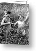 Relief Work Photo Greeting Cards - Back To Nature Greeting Card by Fred Morley