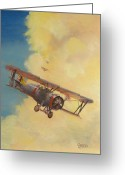Army Air Corps Greeting Cards - Back to the Lexington Greeting Card by Christopher Jenkins