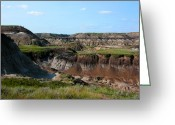 Drumheller Greeting Cards - Badlands 3 Greeting Card by Stuart Turnbull