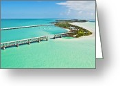 Ark Greeting Cards - Bahia Honda Greeting Card by Patrick M Lynch