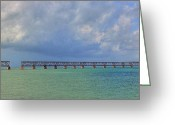 Sean Allen Greeting Cards - Bahia Honda Greeting Card by Sean Allen