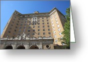 Reporting Greeting Cards - Baker Hotel The Fountain of Youth Greeting Card by Shawn Hughes